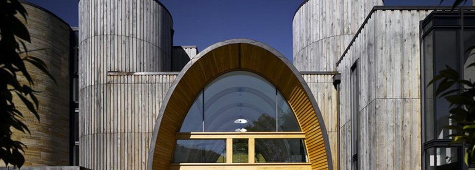 Дизайн частного экологического замка Downley 2,5 миллиона фунтов стерлингов, от студии BPR Architects