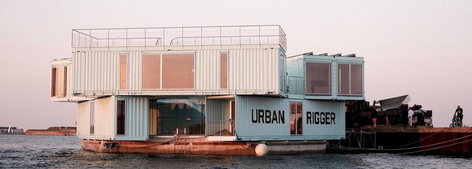 Дом из контейнеров в Копенгагене