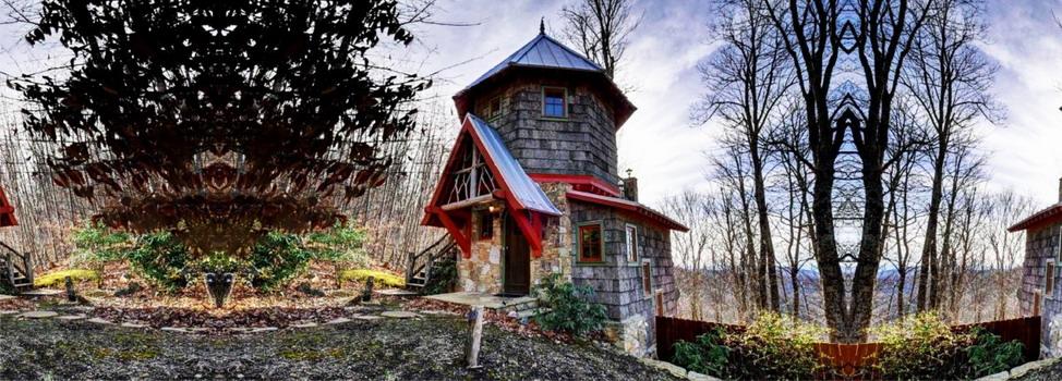 Мини-замок в северной Каролине