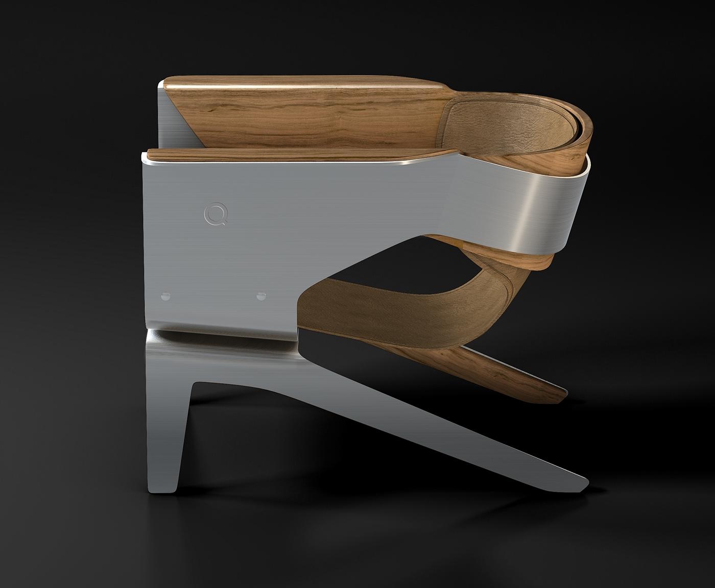 кресло Q Lounge Chair