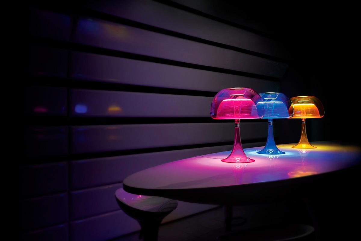 Прозрачные LED светильники Aurelia от QisDesign